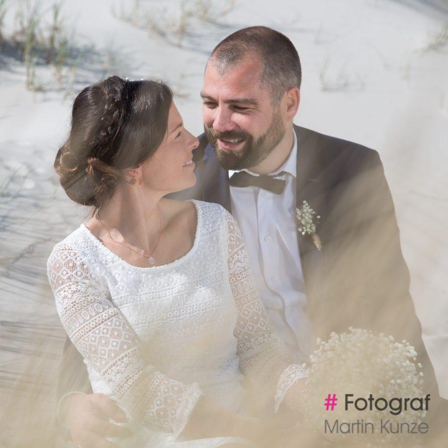 Hochzeits Fotoshooting am Strand von St. Peter-Ording