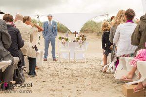 Hochzeit am Strand von St Peter Ording