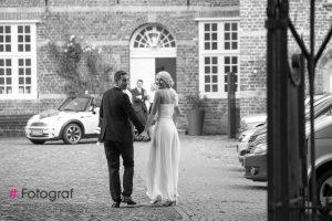Hochzeitsfoto Standesamt Schloss vor Husum