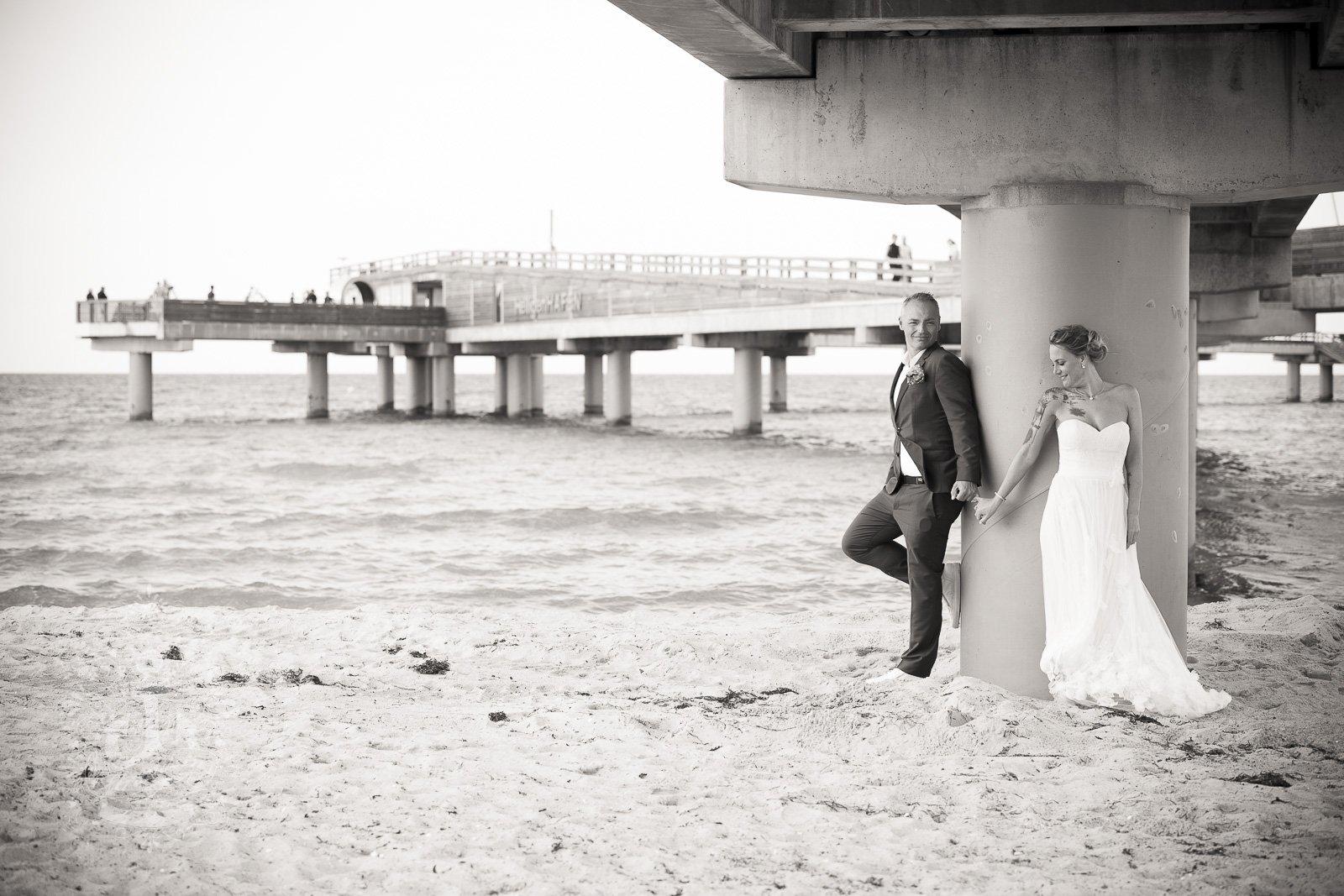 Fotoshooting am Hochzeitstag